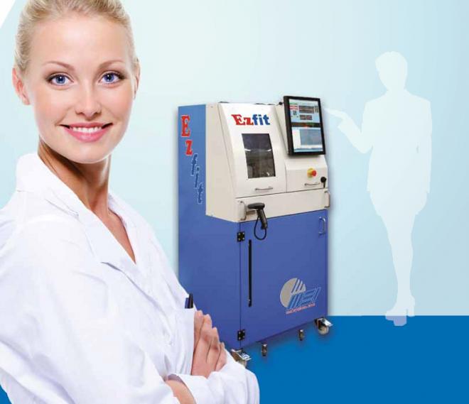 Ez Fit - novi industrijski stroj za brušenje naočalnih leća